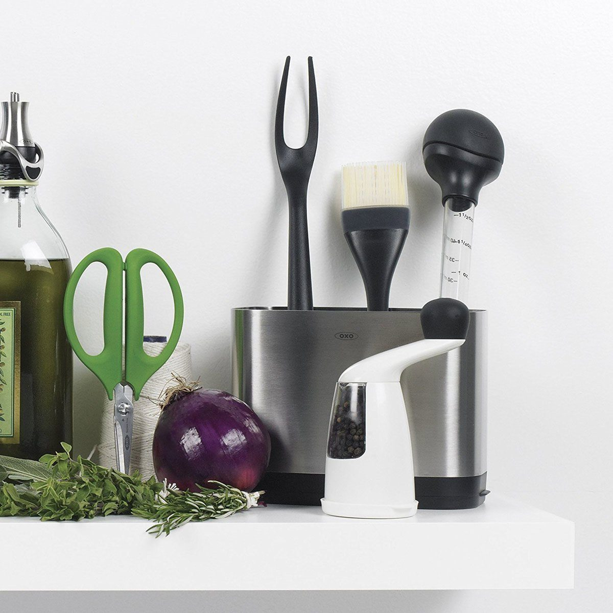 oxo brush with other food tools