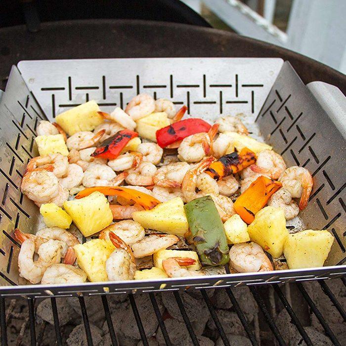 vegetable basket for grill