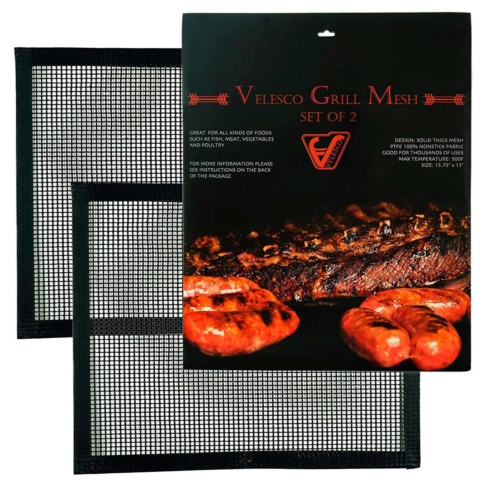 grill mats set of two