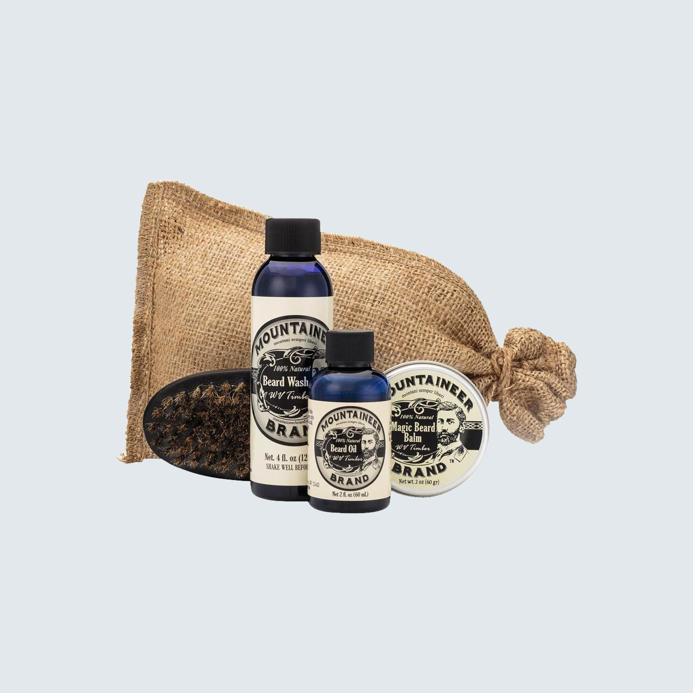 Mountaineer grooming products