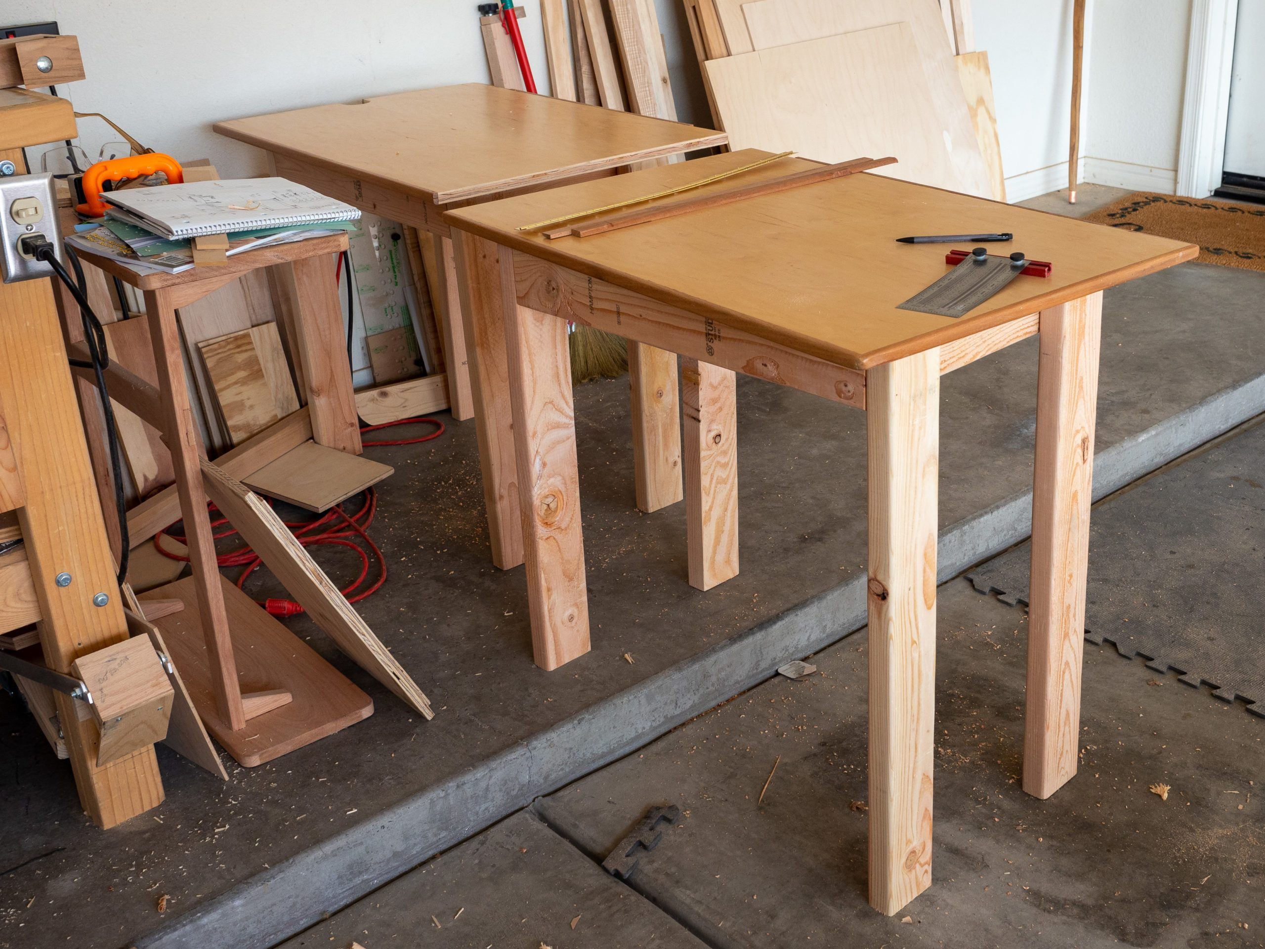 desk in progess