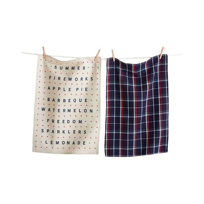 Americana Summer Kitchen Towels