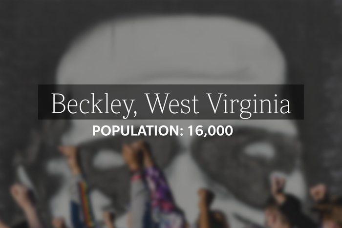 Beckley, West Virginia (Population: 16,000)