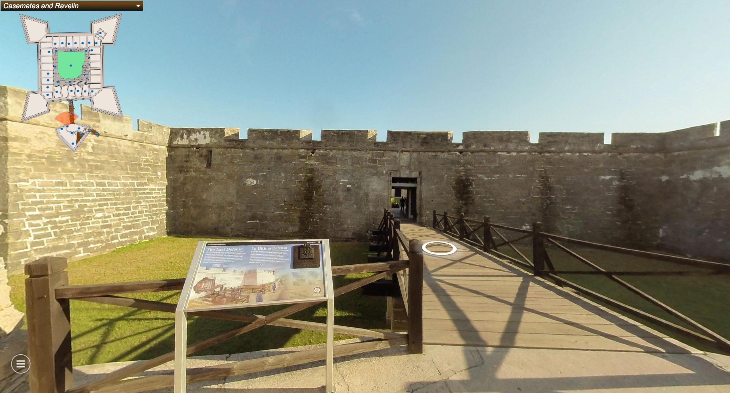 Castillo de San Marcos virtual tour