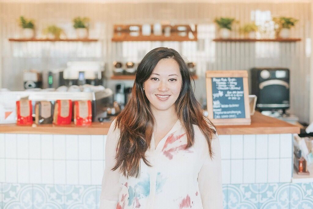 claire sumidiwirya founder of Bellden cafe