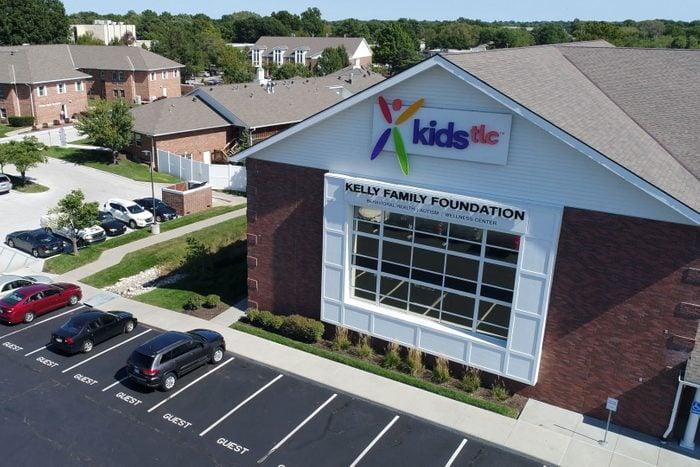 drone shot of KidsTLC campus