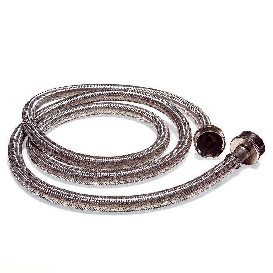 braided stainless steel washing machine hose