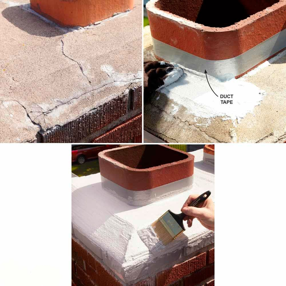 How to Fix Efflorescence on Chimney Brick