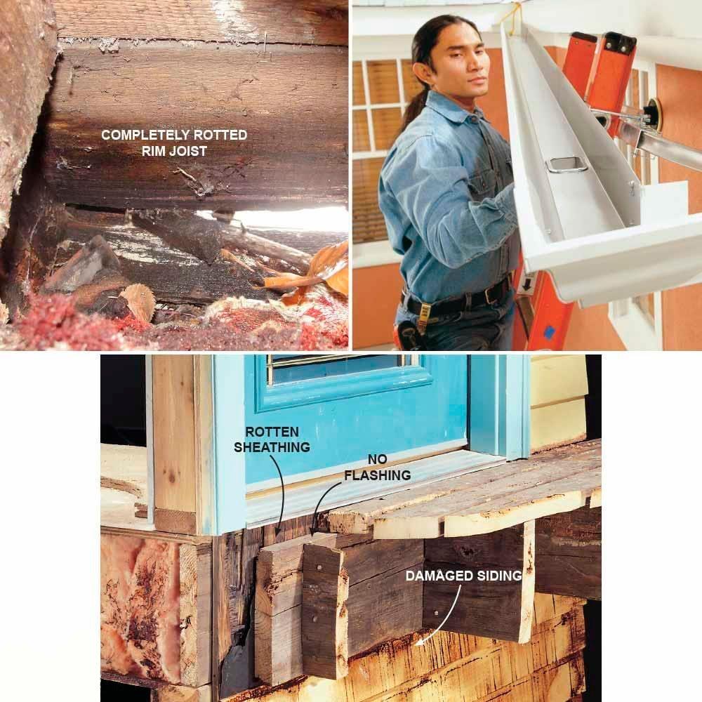 How to Fix Decking Under a Door