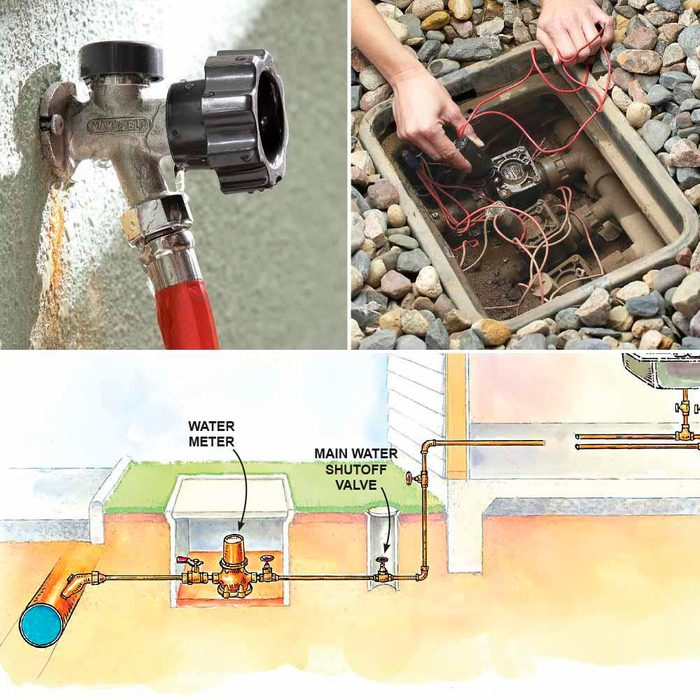 How to Fix a Water Meter Never Stops