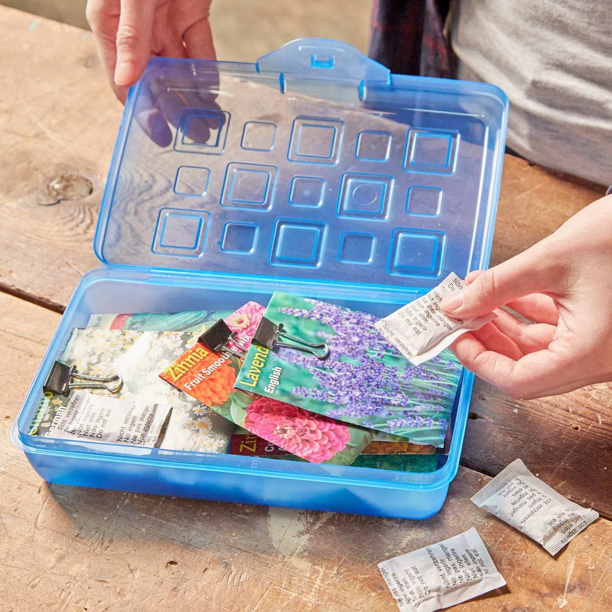 HH silica packets gardening seeds fresh