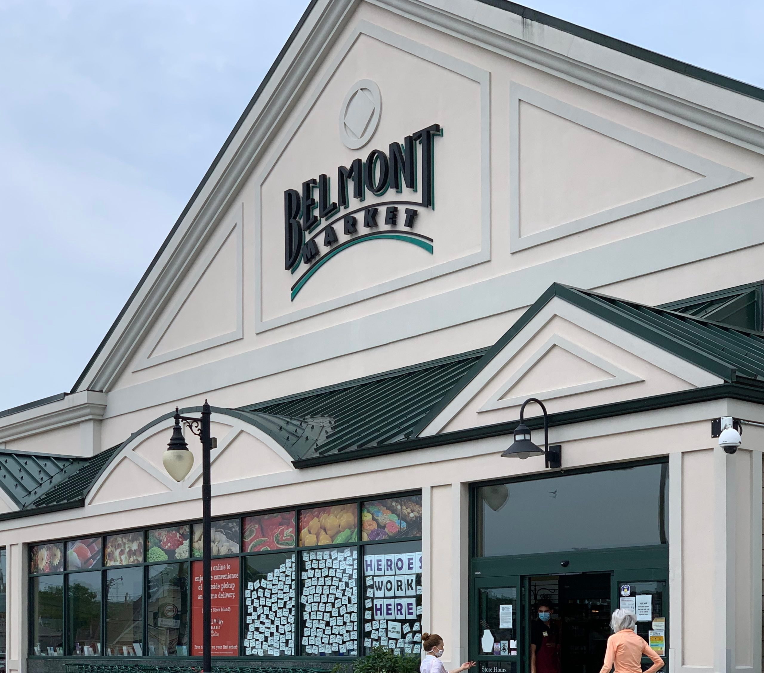 Belmont Market exterior