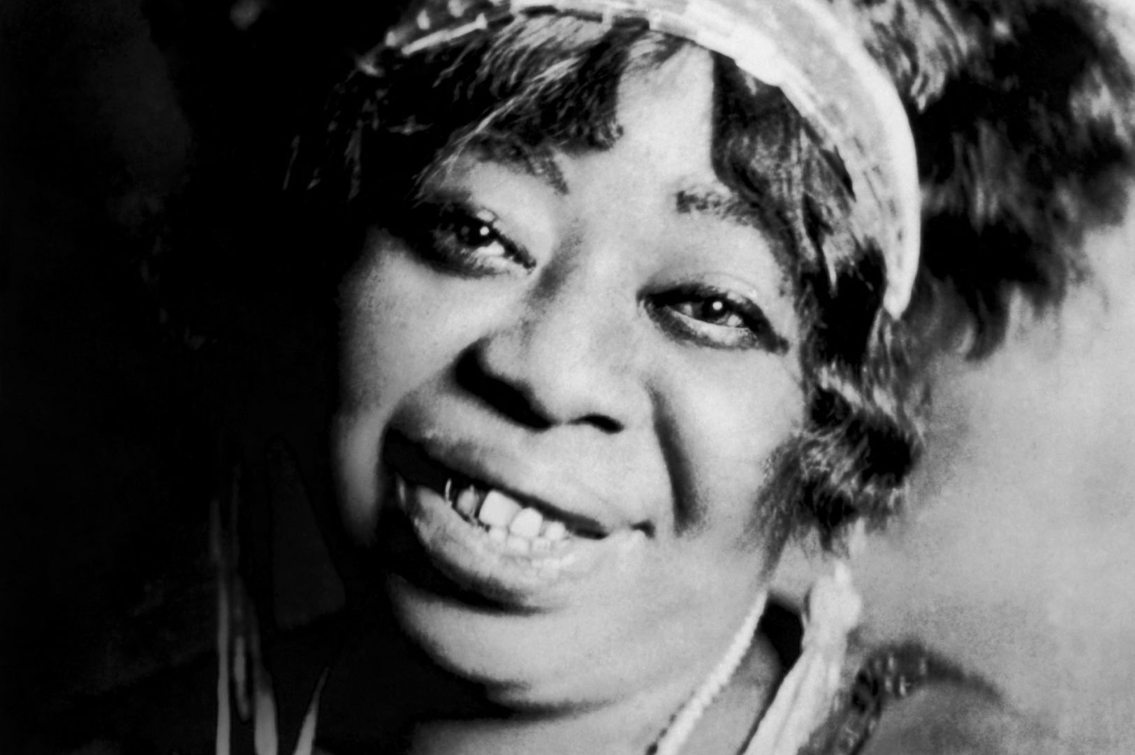 "CIRCA 1923: ""Mother of the Blues"" Ma Rainey poses for a portrait circa 1923. (Photo by Donaldson Collection/Getty Images)"