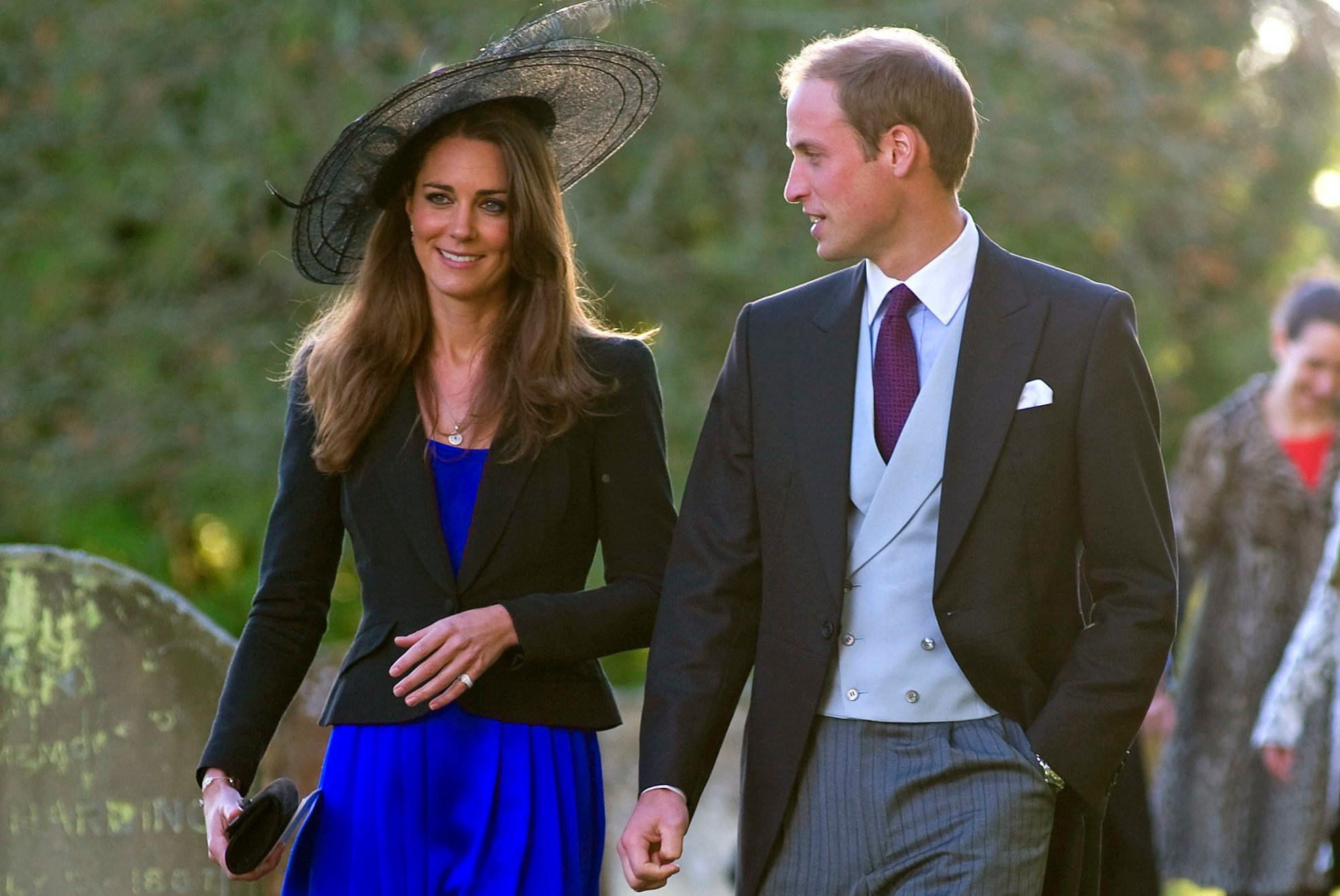 Prince William and Kate Middleton Attend Harry Meade And Rosie Bradford's Wedding