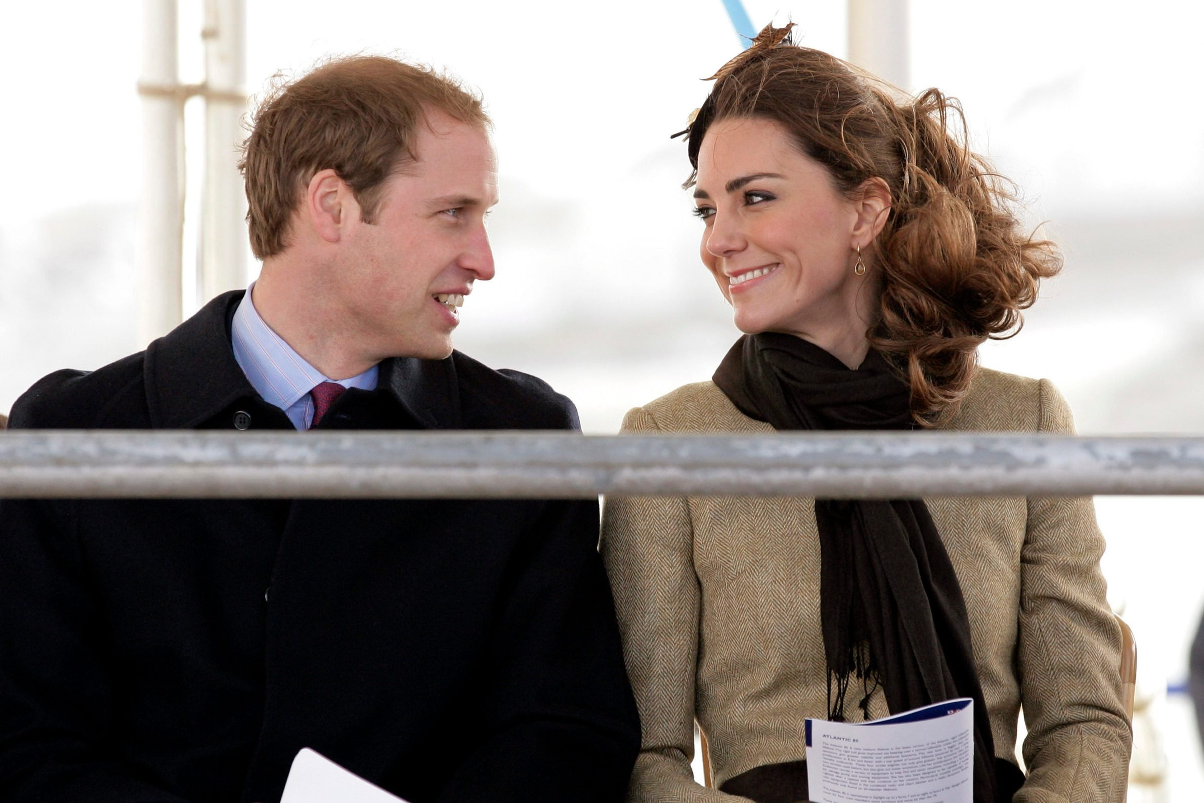 Prince William and Kate Middleton visit Trearddur Bay RNLI Lifeboat Station