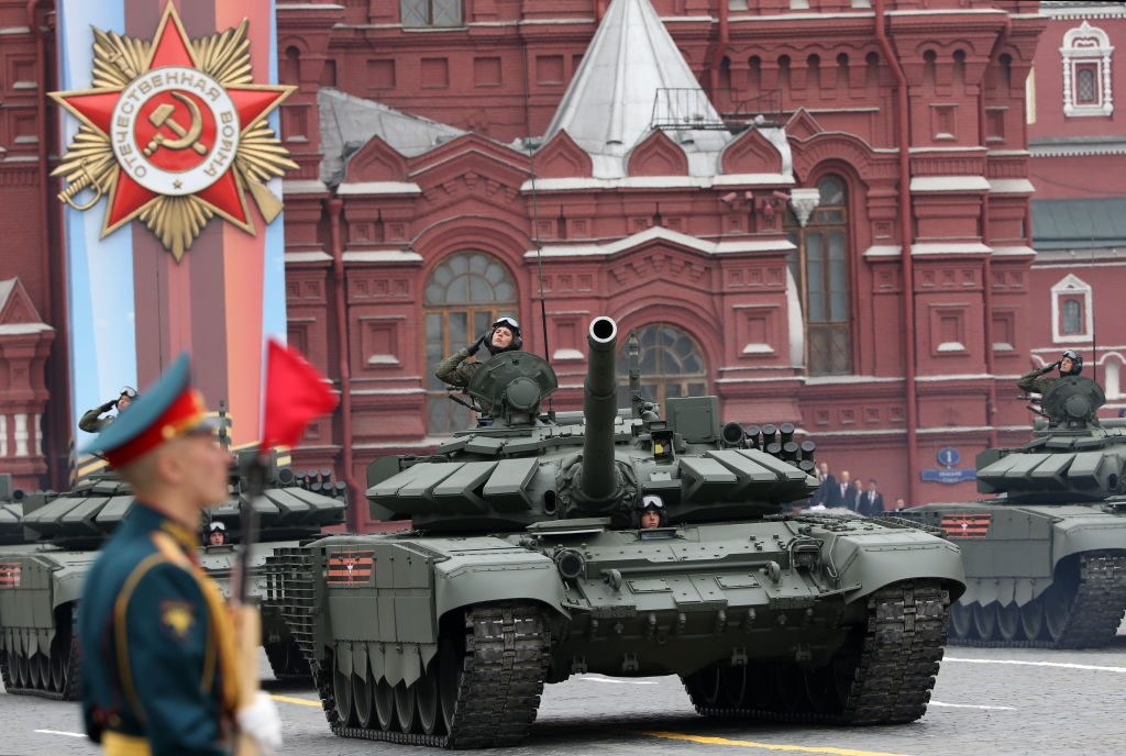 Red Square Victory Day Parade in Moscow