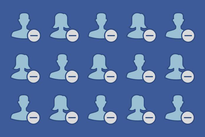 remove facebook friends