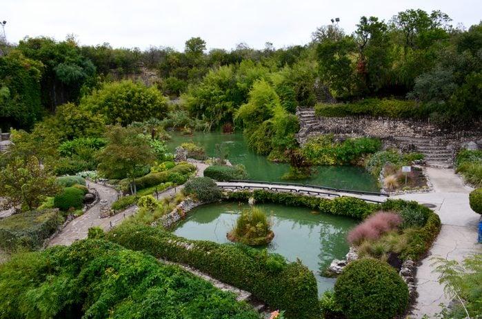 Japanese Tea Garden in San Antonio, Texas.