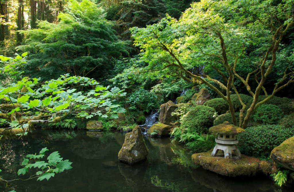 Portland Japanese Garden, Portland, Oregon, USA