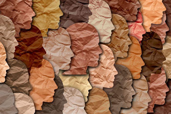 diverse paper profiles pattern