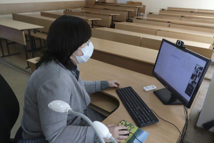 Distance learning in Novosibirsk amid coronavirus pandemic
