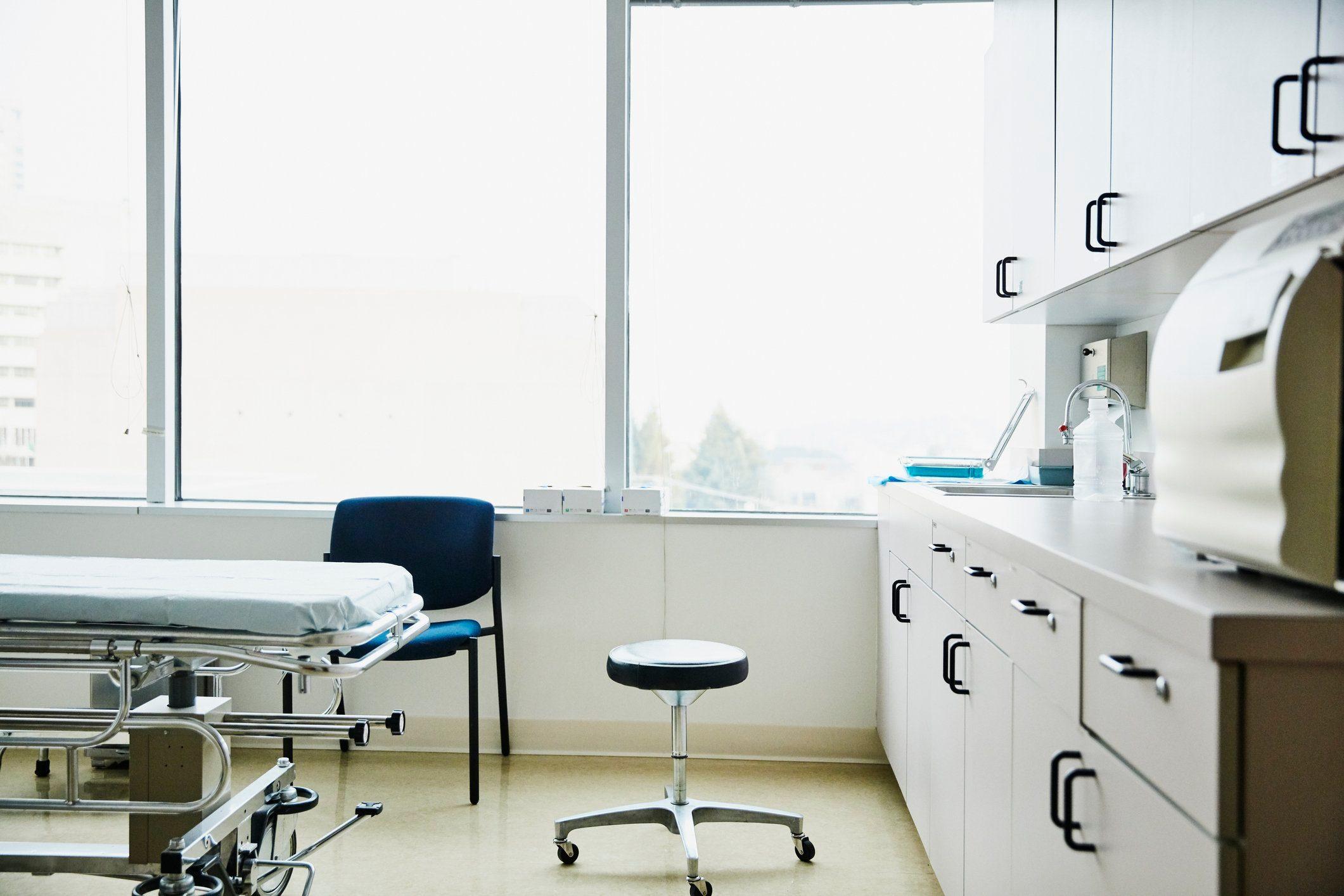 doctor office exam room