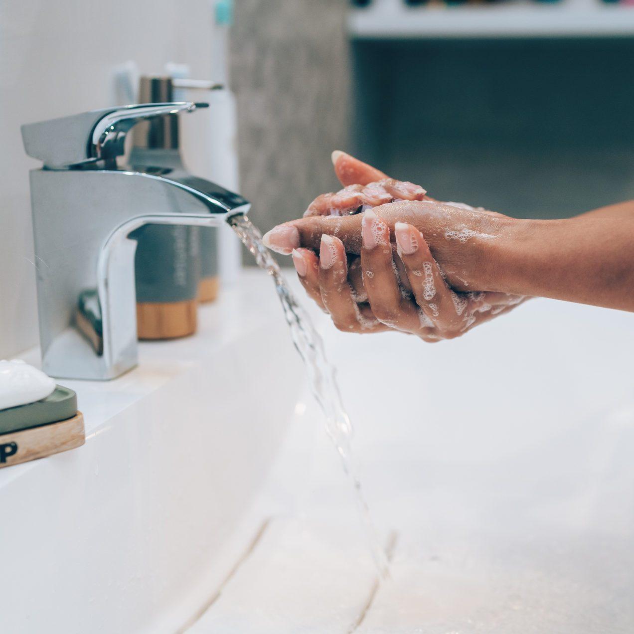 Covid-19 - Washing hands