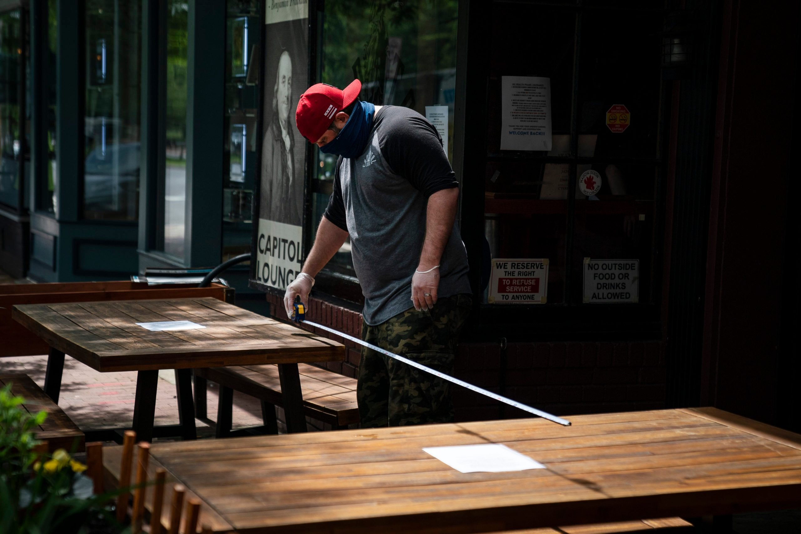 D.C. Begins Phase 1 Of Reopening Businesses