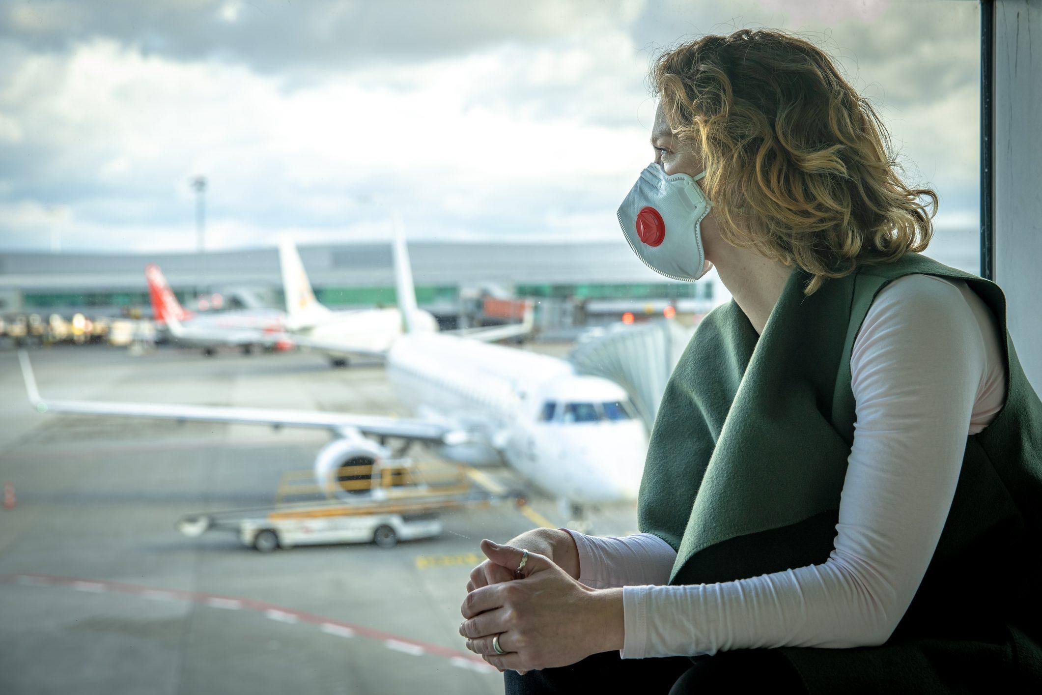 flying travel coronavirus covid