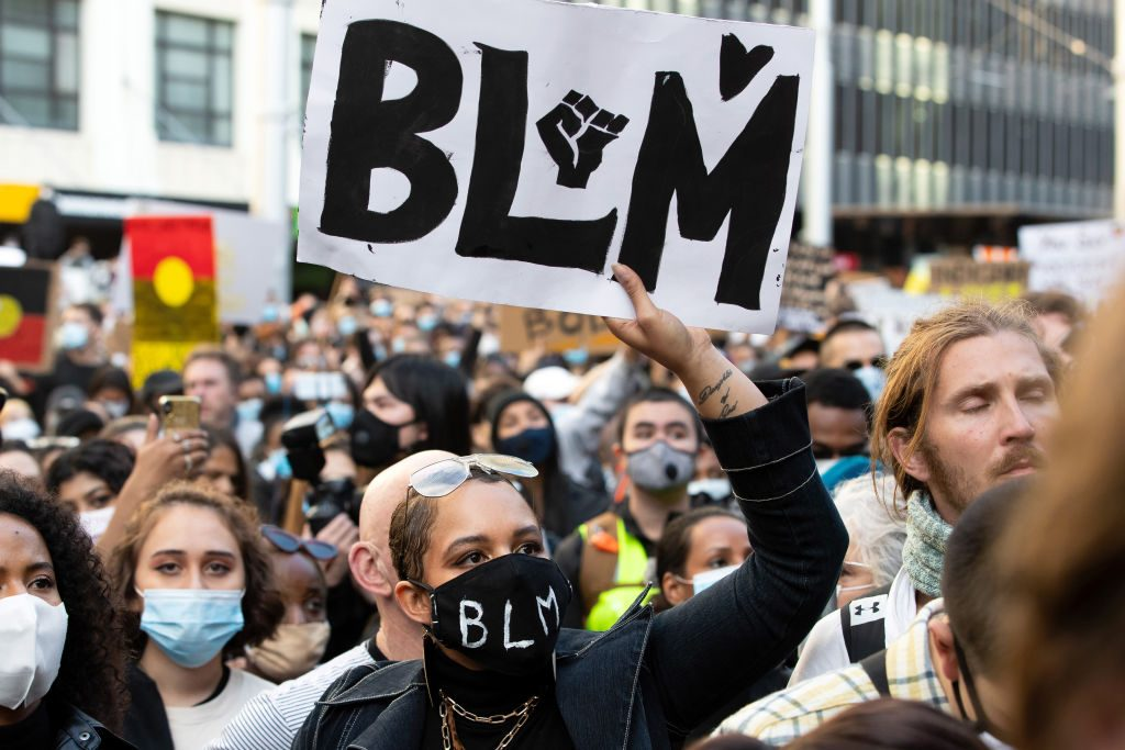 NEWS: JUN 06 Sydney Black Lives Matter Rally