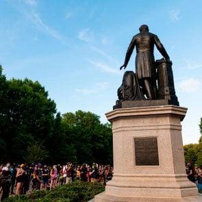 US-POLITICS-RACISM-UNREST-HISTORY-STATUES