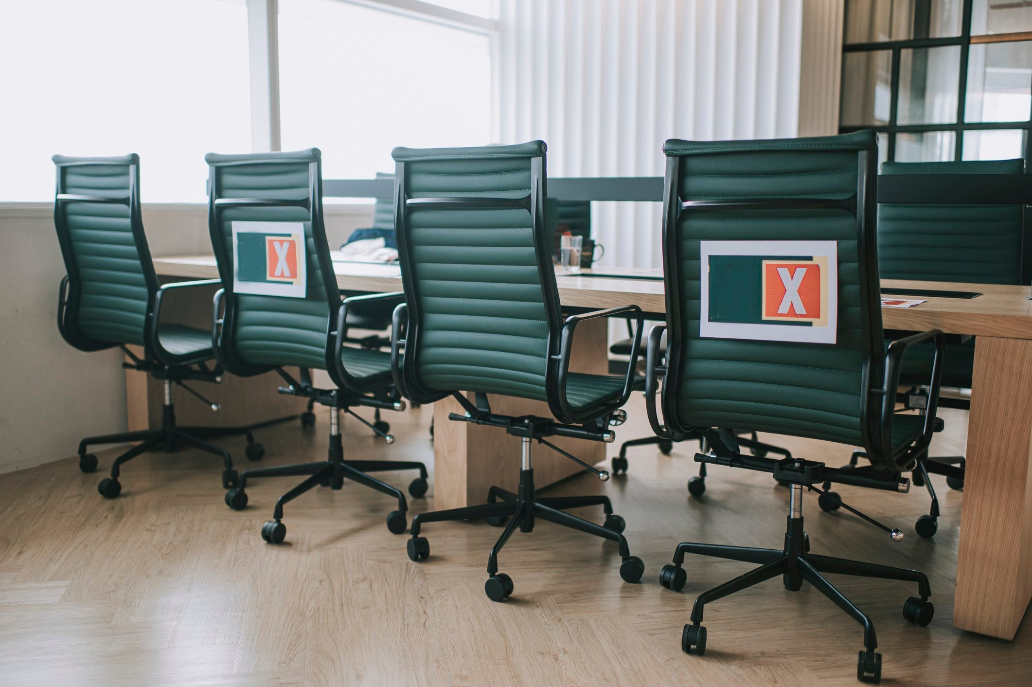 office work space social distancing