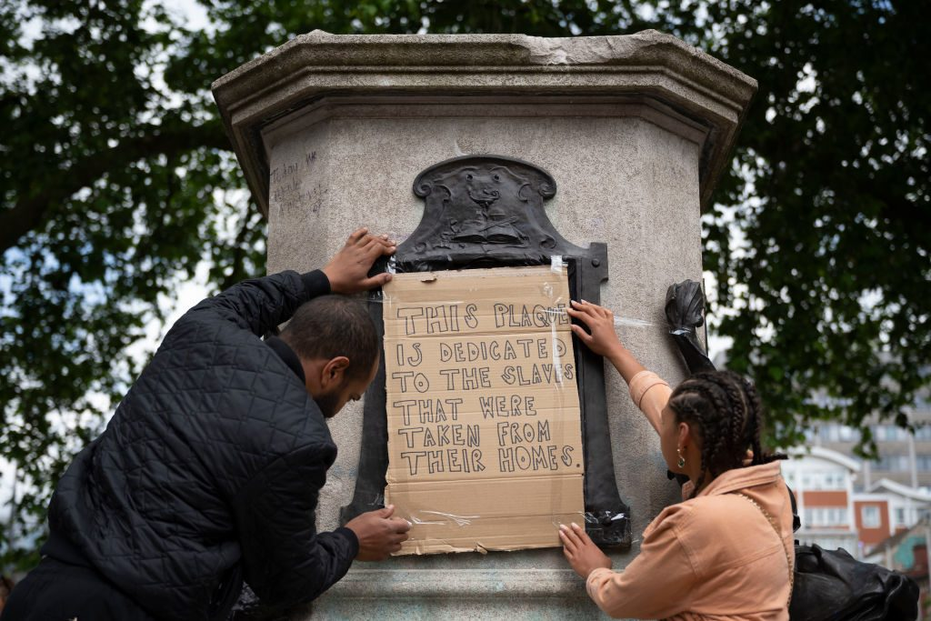 Statues Draw Ire And Renewed Scrutiny Amid Anti-Racism Protests
