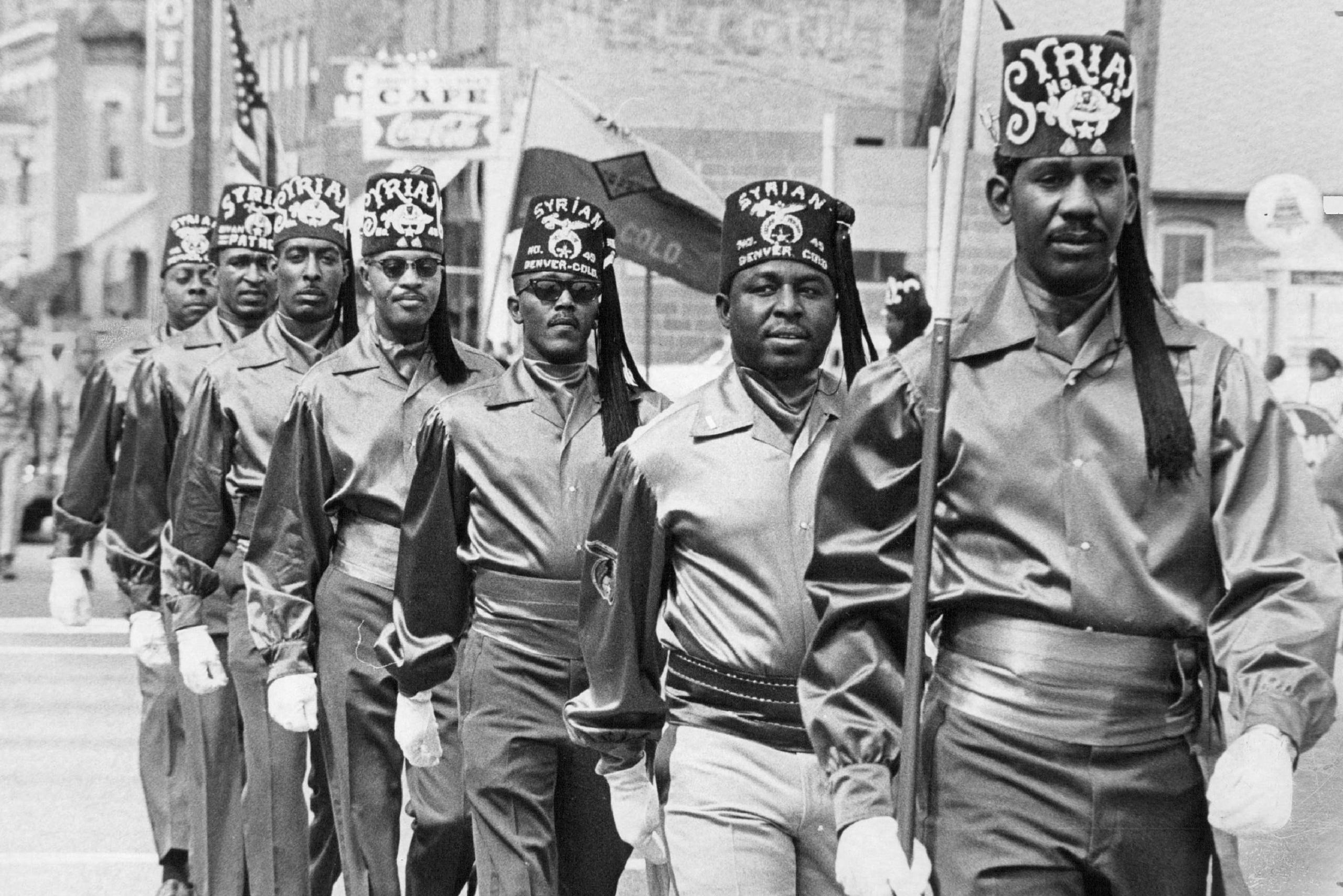 JUL 4 1969, JUL 5 1969, JUL 6 1969; Shriners of Syrian Temple 49 lead the Fourth of July parade whic