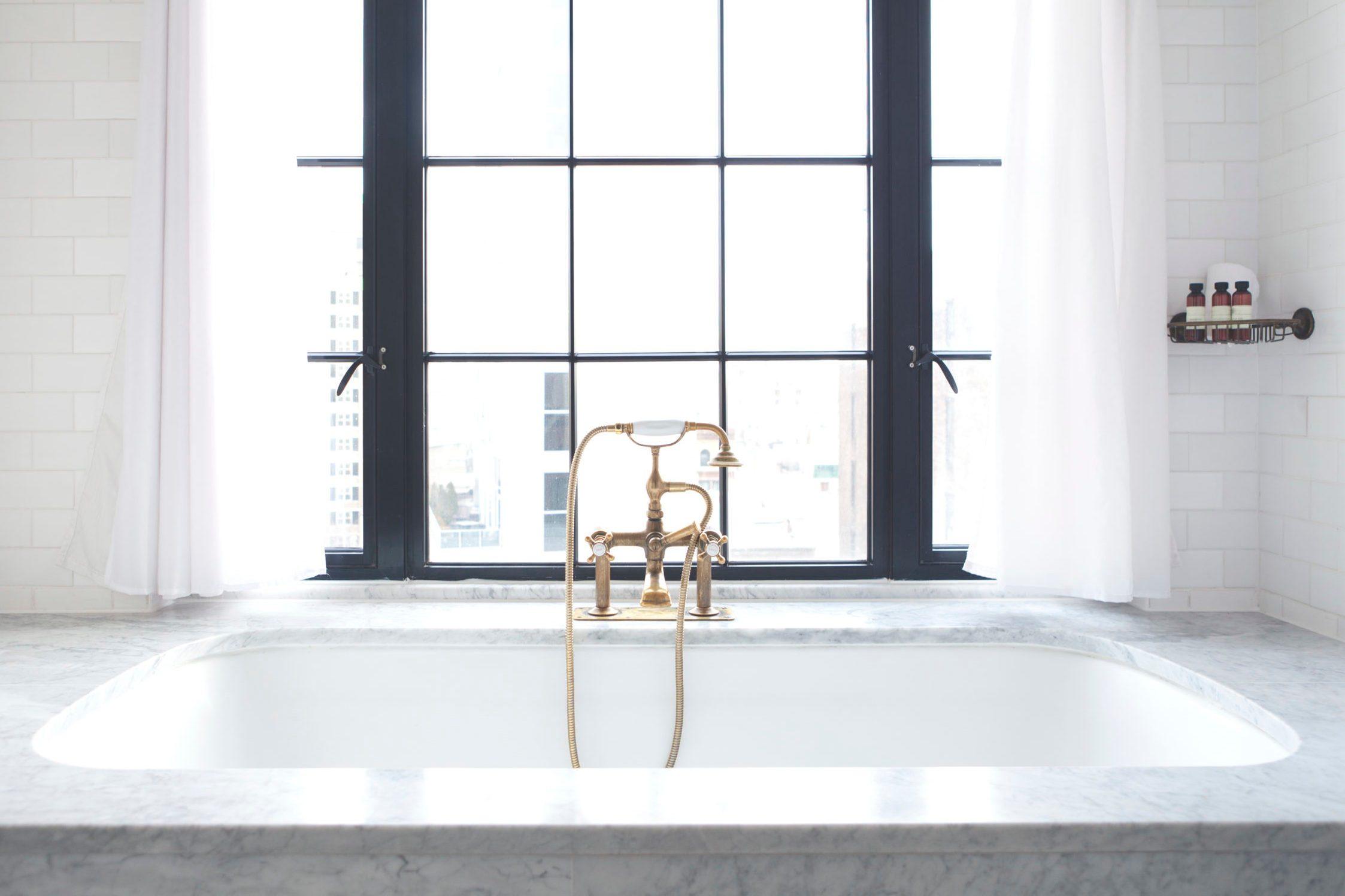 Luxury Bathtub at Bowery Hotel NYC