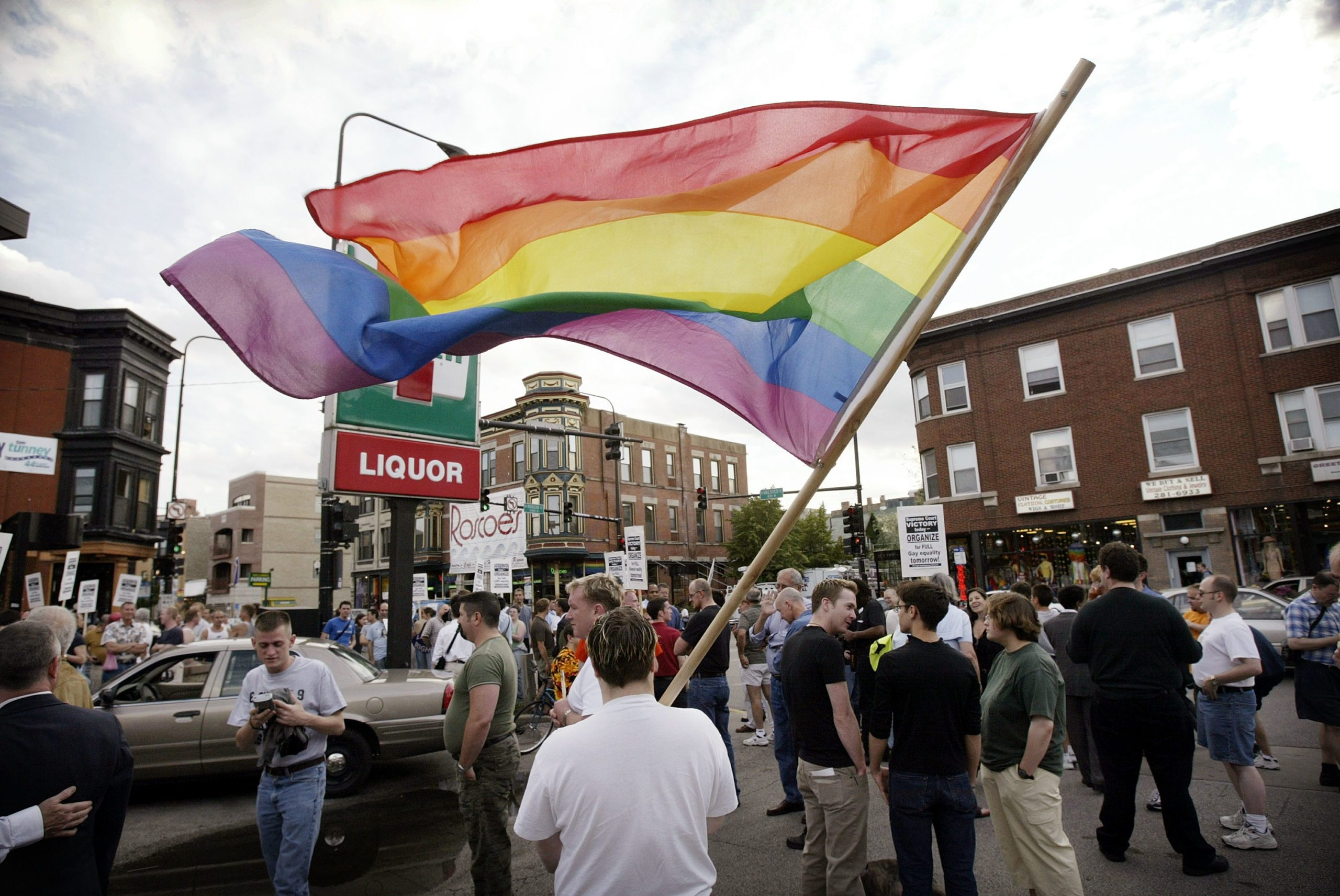 Supreme Court Sodomy Ruling Cheered In Chicago