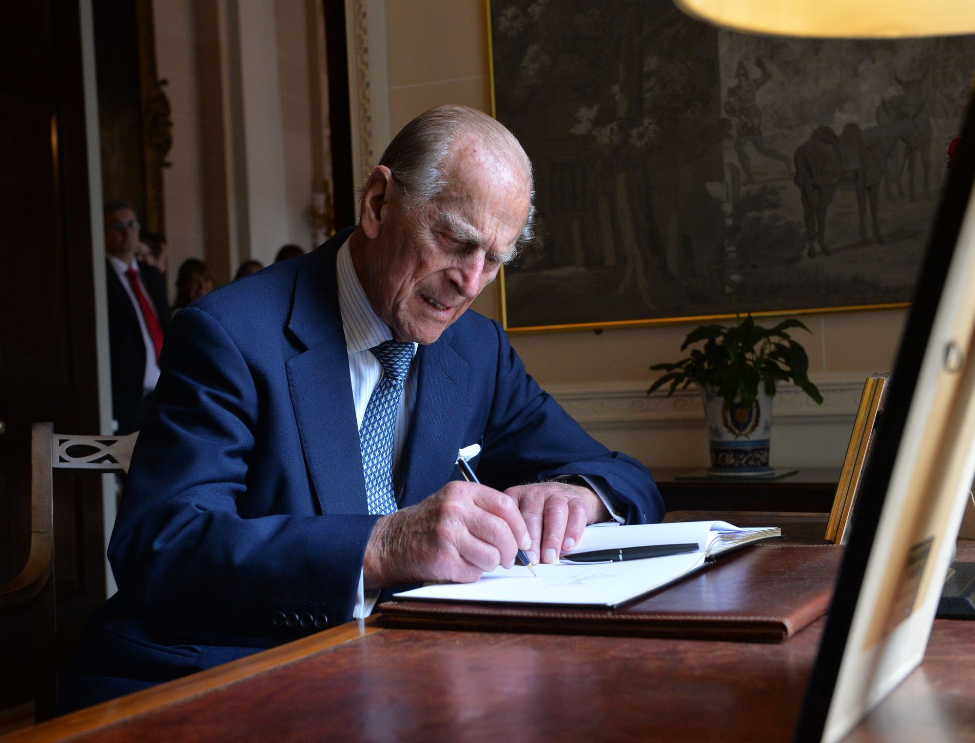 Queen Elizabeth II And Duke Of Edinburgh Visit Northern Ireland