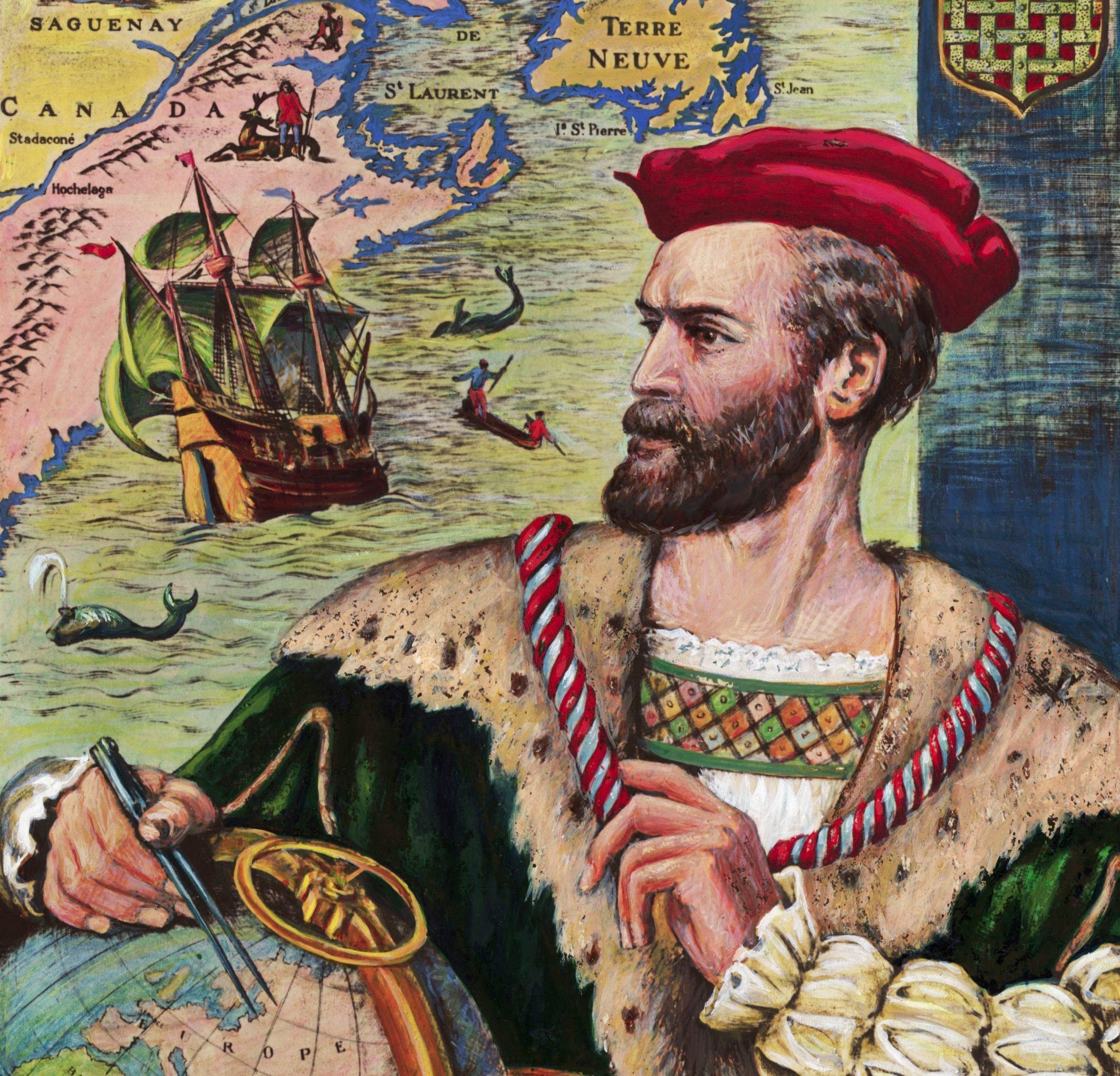 Portrait of Jacques Cartier