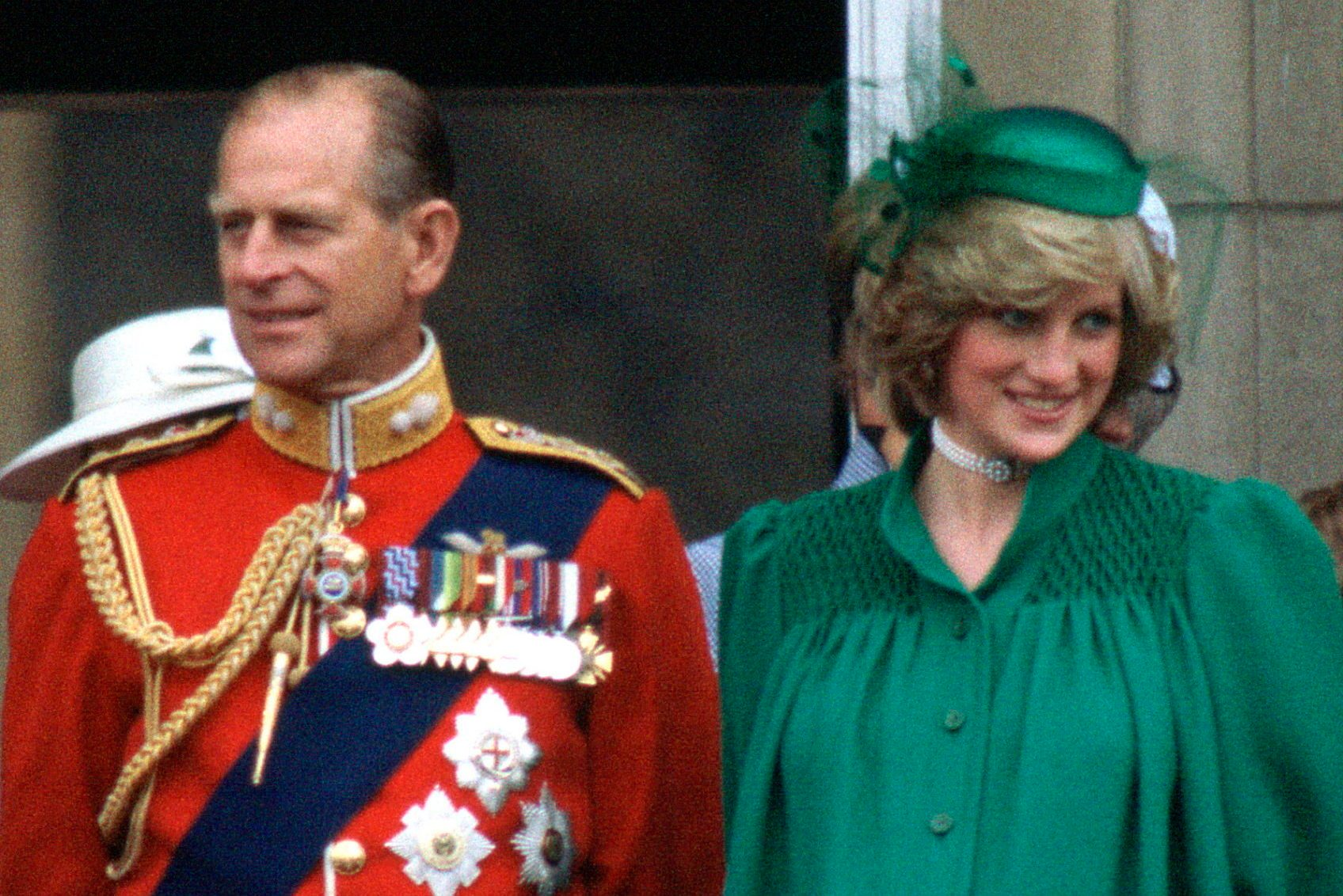 Diana With Philip