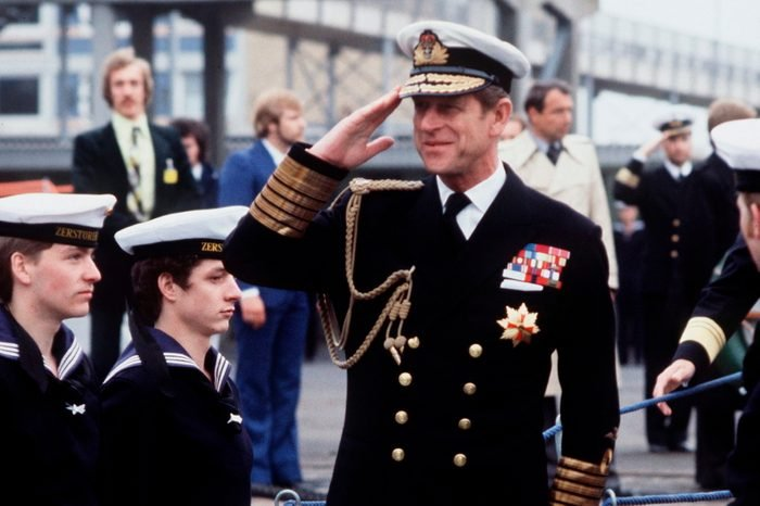 Philip Naval Uniform Salute