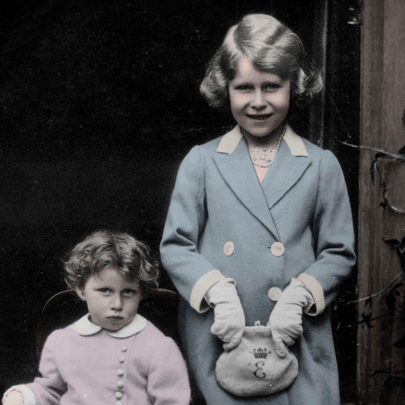 Princess Margaret and Princess Elizabeth