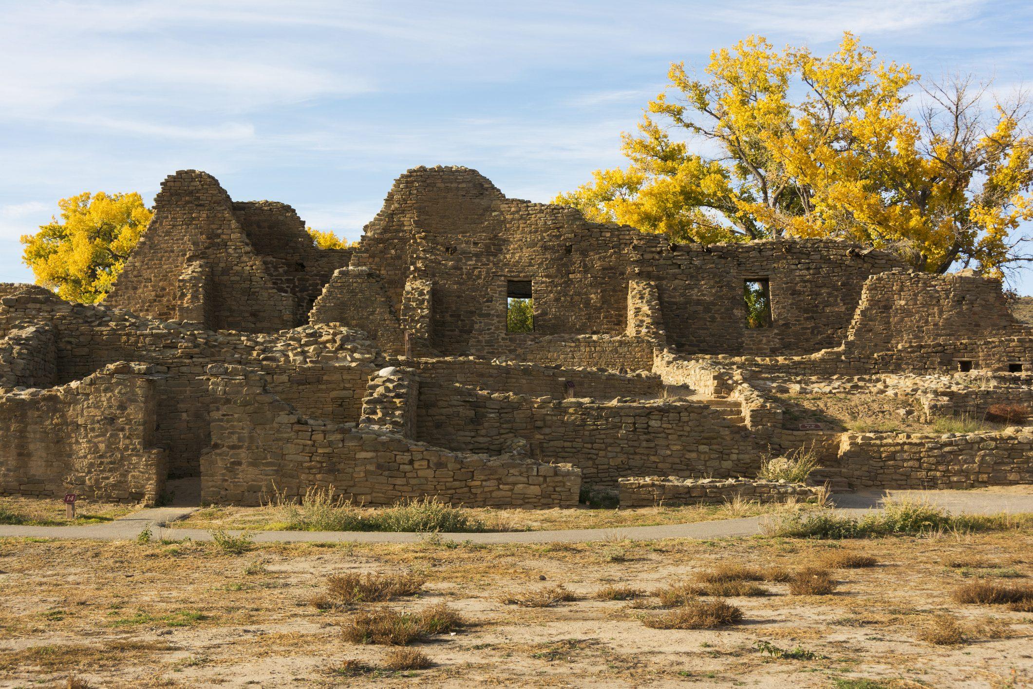 Aztec Ruins National Monument, ruins