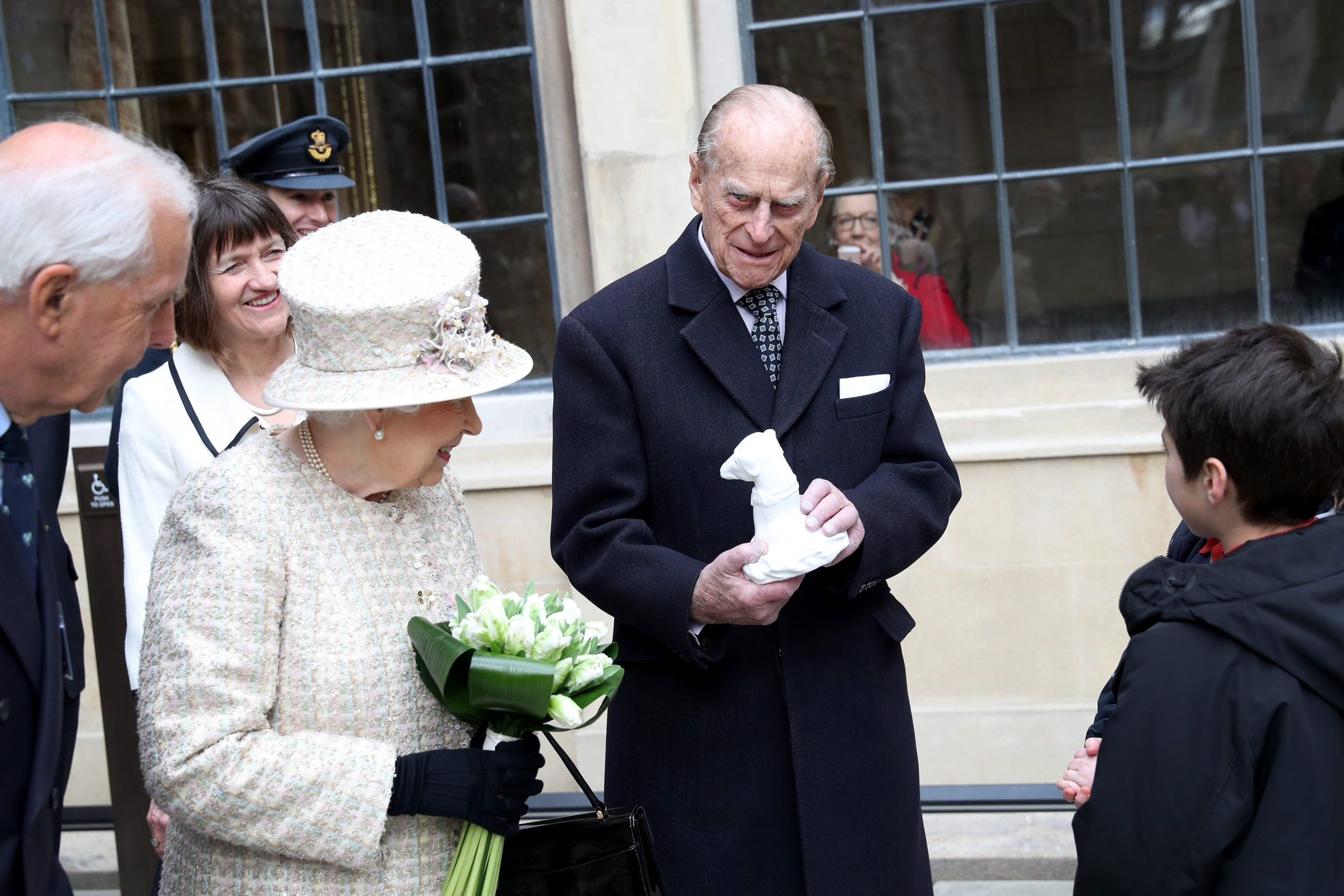 The Queen And Duke Of Edinburgh Open A New Development At The Charterhouse