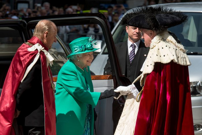 The Queen And The Duke of Edinburgh Attend A Service At St Paul's Cathedral To Mark The Centenary Of The Order Of The British Empire