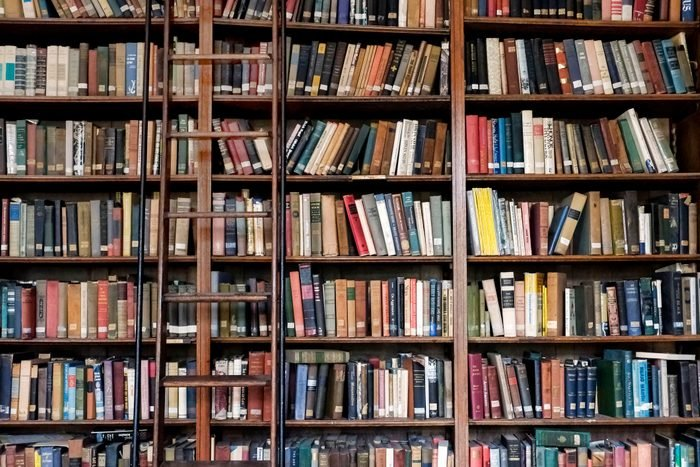 books library book store after coronavirus post quarantine