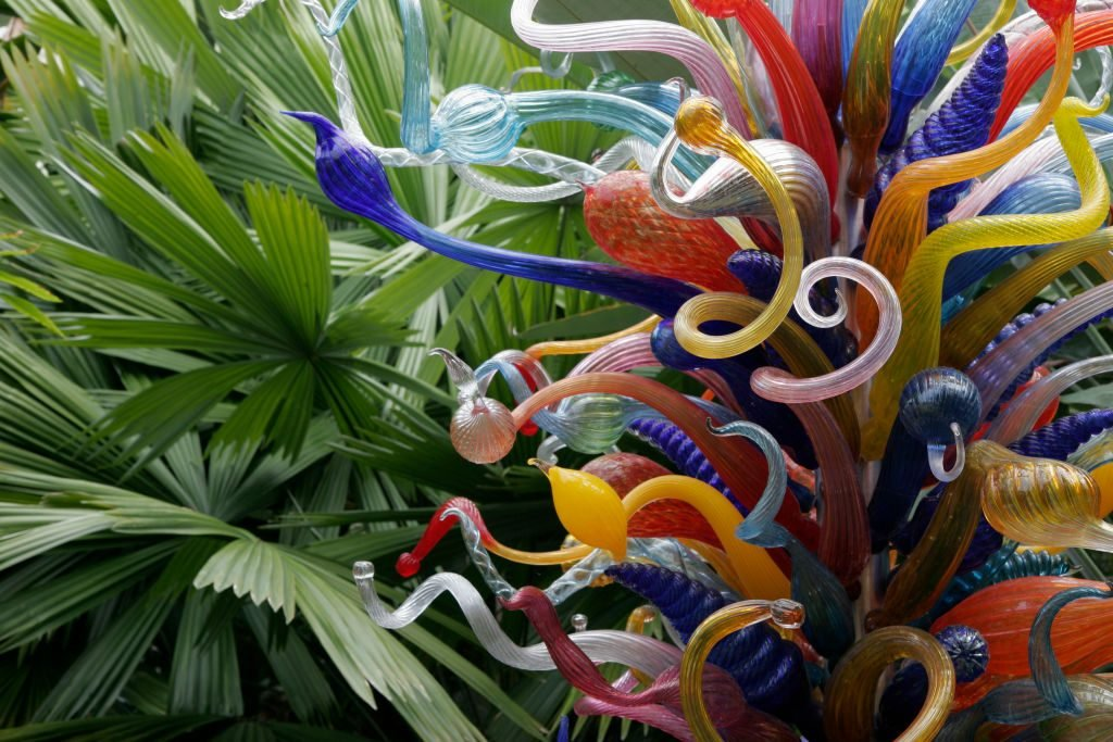 Chihuly glass art at Fairchild Tropical Botanic Garden