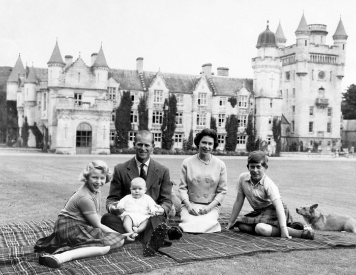 Royalty - Queen Elizabeth II and family - Balmoral