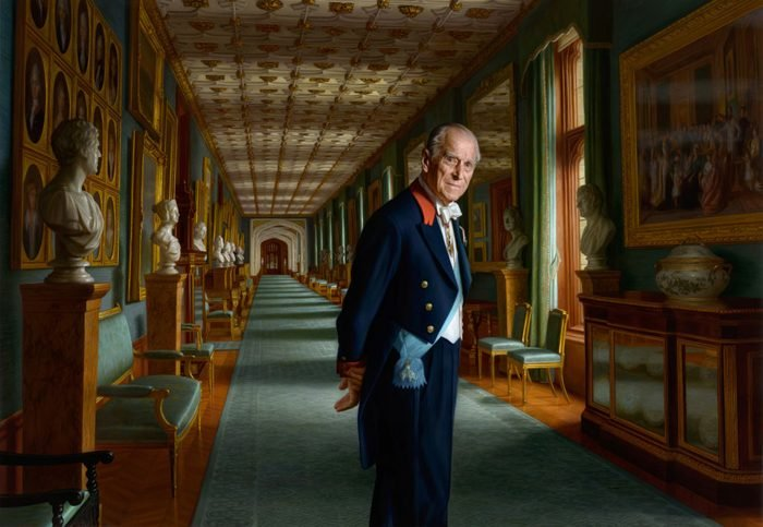 Prince Philip, Duke of Edinburgh Painting Released As He Retires From Public Engagements