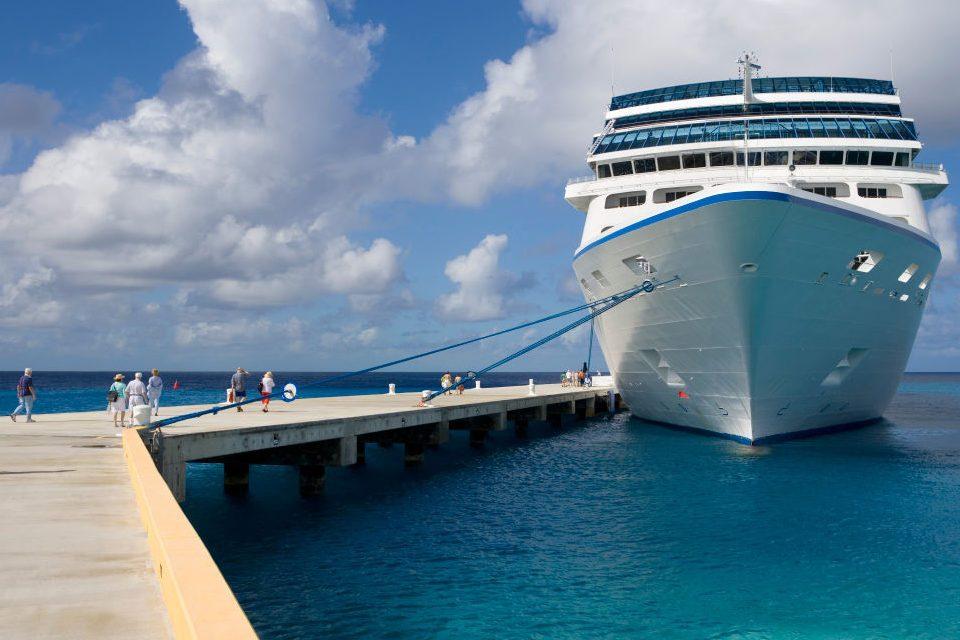 Docked Cruise Ship 2