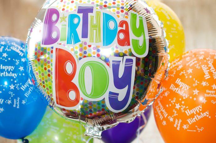 'Birthday Boy' Balloon Celebrations